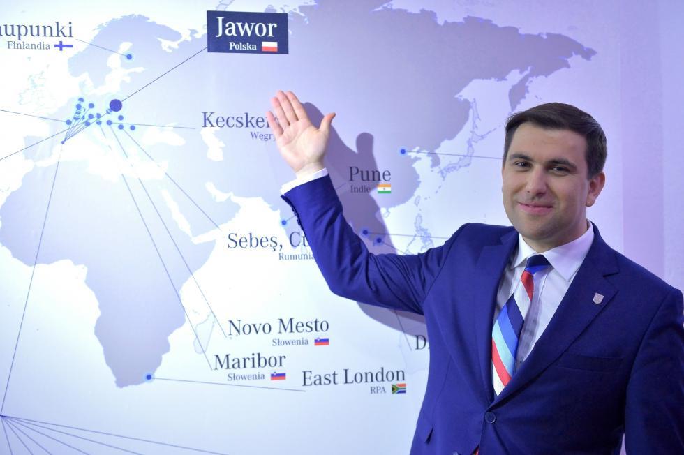 Jawor wfinale konkursu innowacyjnych samorządów