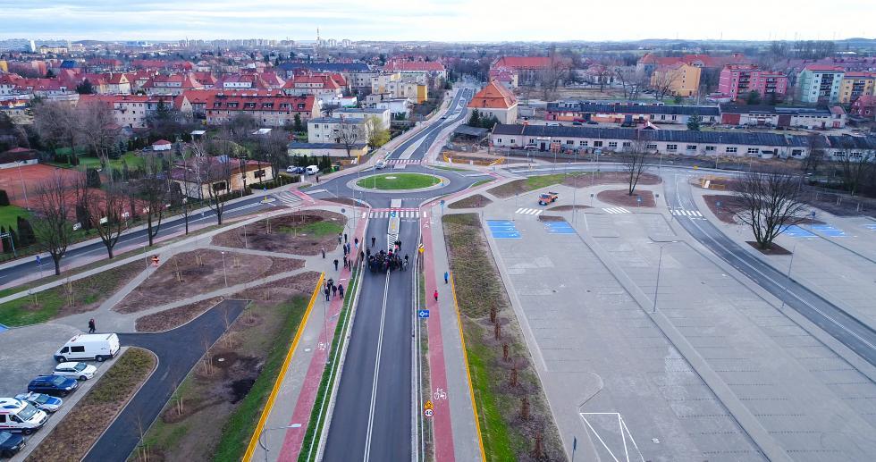 Zbiorcza droga południowa - otwarta