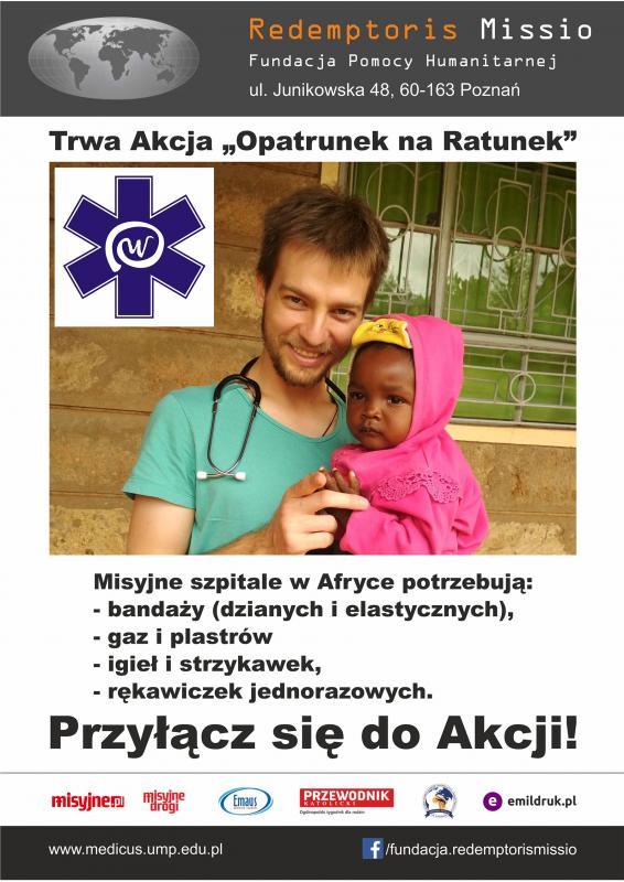 """Studenci PWSZ im. Witelona wLegnicy wakcji """"Opatrunek na Ratunek"""""""