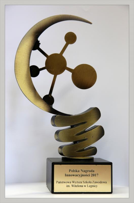 Polska Nagroda Innowacyjności 2017 dla PWSZ wLegnicy