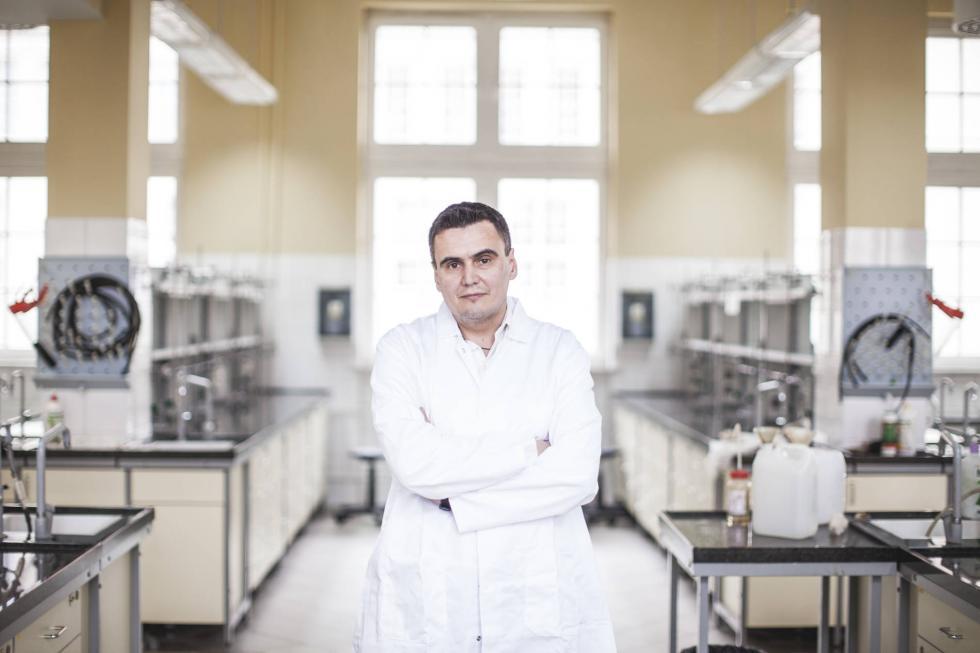 Prof. Marcin Drąg laureatem programu Team