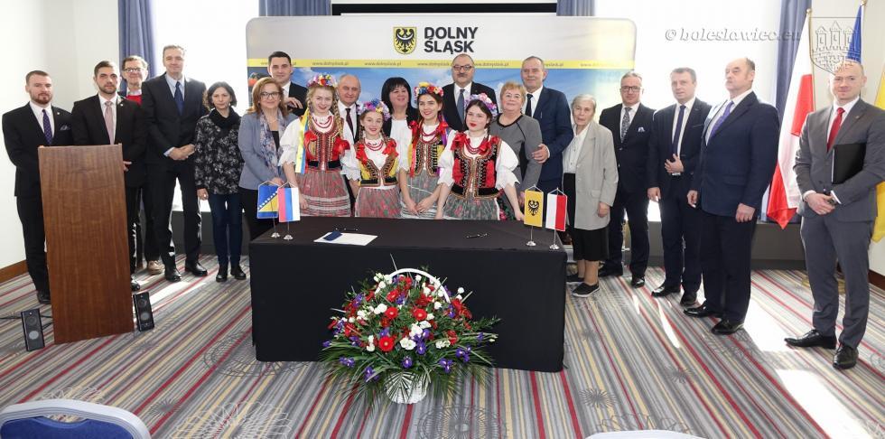 Podpisano umowę owspółpracy pomiędzy Republiką Serbską a Dolnym Śląskiem