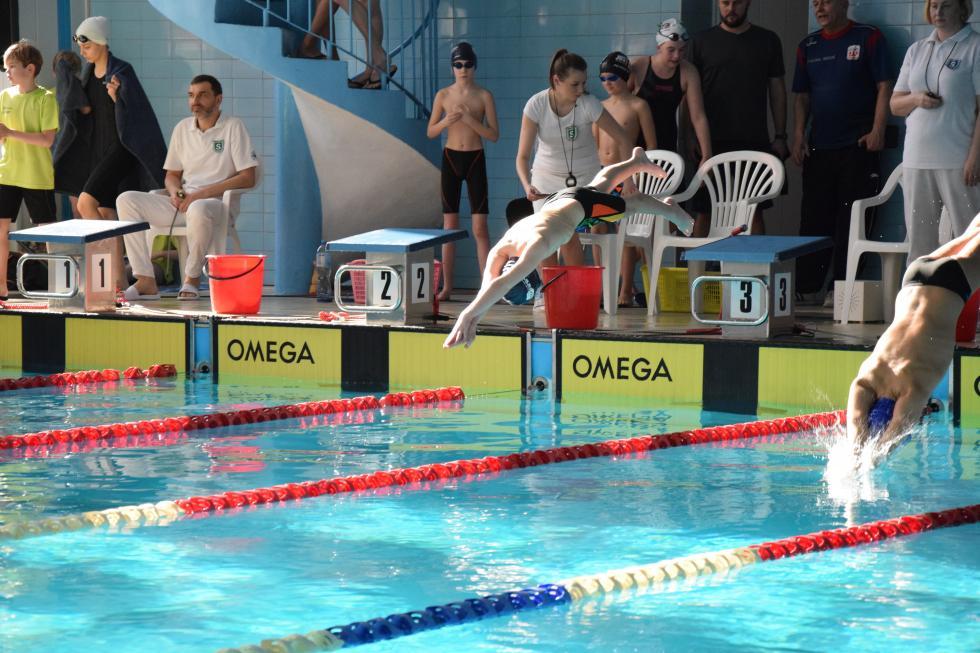 Świetne występy legnickich pływaków