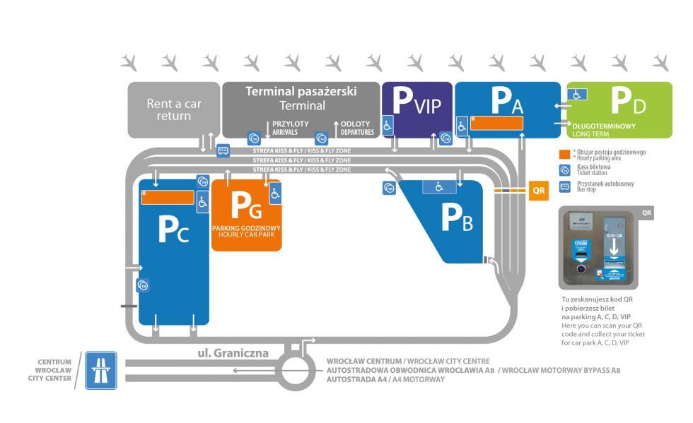 Nowy parking przy lotnisku