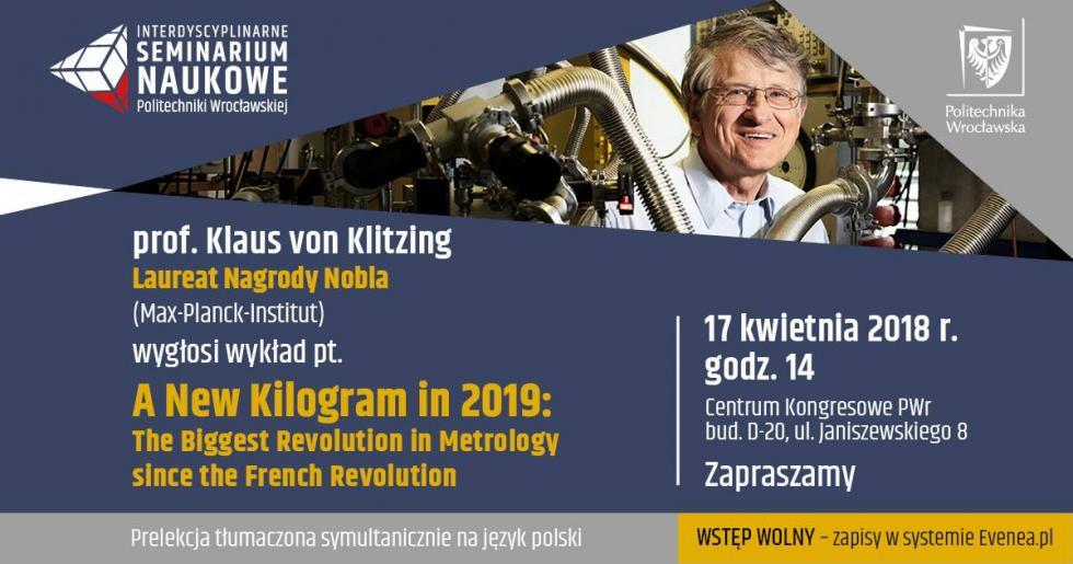 Laureat Nagrody Nobla na PWr
