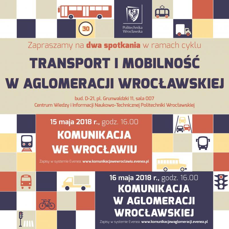 Na PWr otransporcie imobilności waglomeracji wrocławskiej