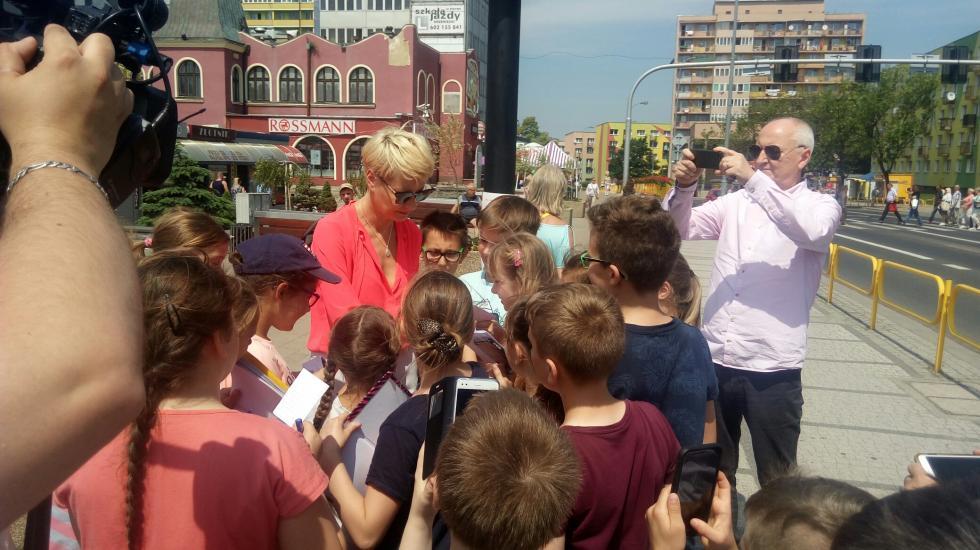 Małgorzata Kożuchowska wWałbrzychu zaprasza na Festiwal reżyserii Filmowej
