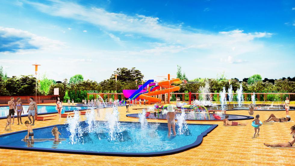 Legnica będzie miała Letni Park Wodny – Aquafun