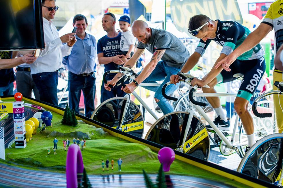 Roadshow 90 lat Tour de Pologne - Legnica 2-3 czerwca