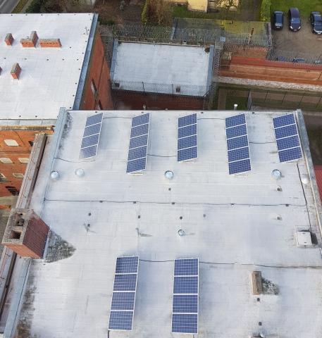 Zakład Karny wOleśnicy inwestuje wenergię ze słońca