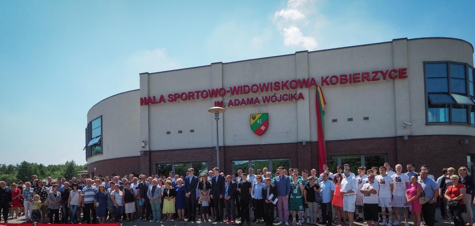 Hala Sportowo-Widowiskowa wKobierzycach imienia Adama Wójcika!