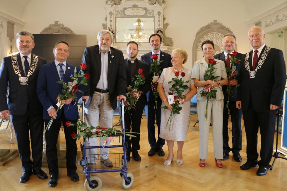 Waldemar Krzystek Honorowym Obywatelem Legnicy