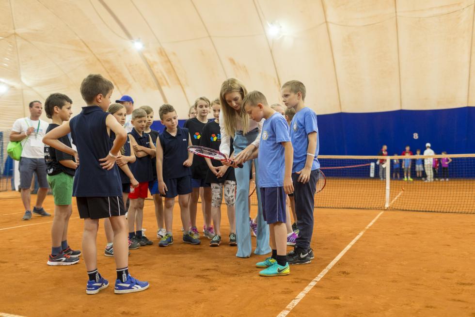 Tenis lekarstwem na brak ruchu - gościem specjalnym Ula Radwańska