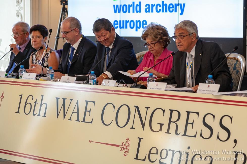 W Legnicy wybrano przewodniczącego Europejskiej Federacji Łuczniczej