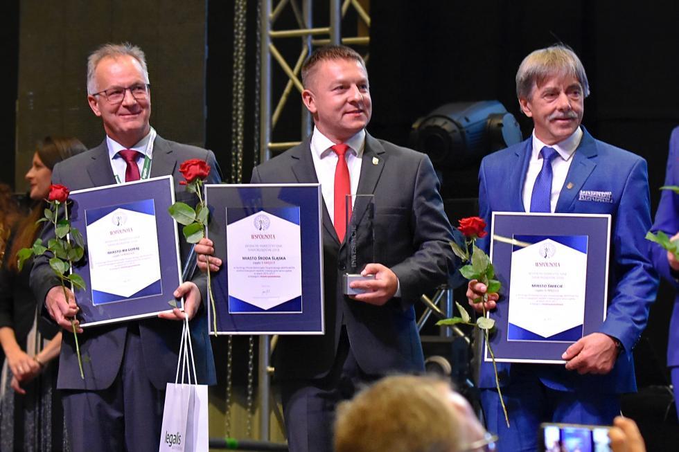 Sukces Środy Śląskiej wKatowicach