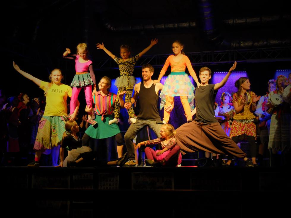 Spektakl Brave Kids Together podbił serca Wałbrzyszan