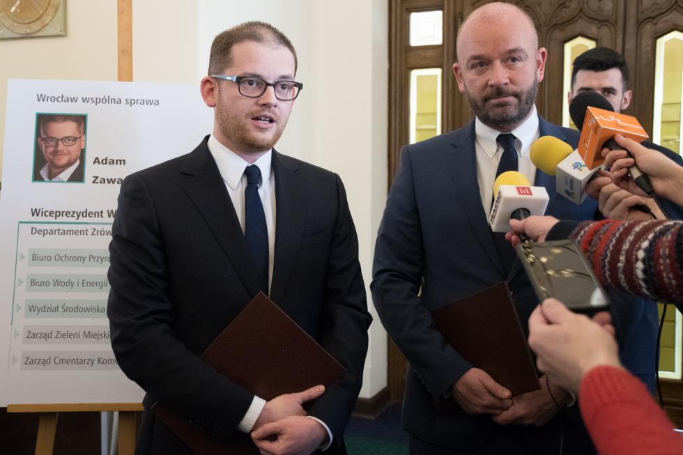 Nowy wiceprezydent Wrocławia