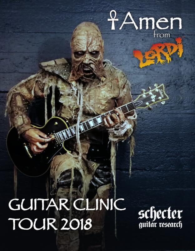 Mumia zgitarą zzespołu Lordi pomoże wbiciu Gitarowego Rekordu Guinnessa weWrocławiu