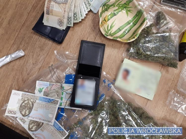 Uderzenie dolnośląskich policjantów wprzestępczość narkotykową