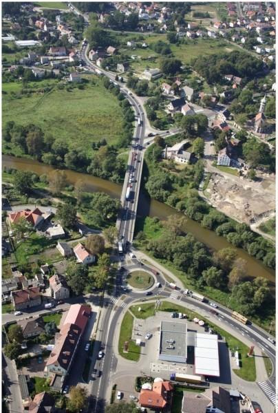 Postępują prace przy dokumentacji na przebudowę/budowę mostu przez rzekę Bóbr wBolesławcu