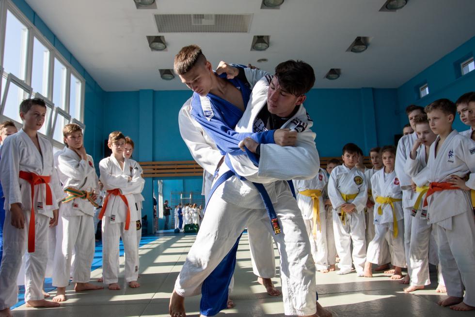 Trening Judo Tigers MORE pod okiem Mistrza Świata