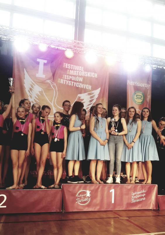 Sukcesy pracowni tańca współczesnego inowoczesnego MDK Bolesławiec