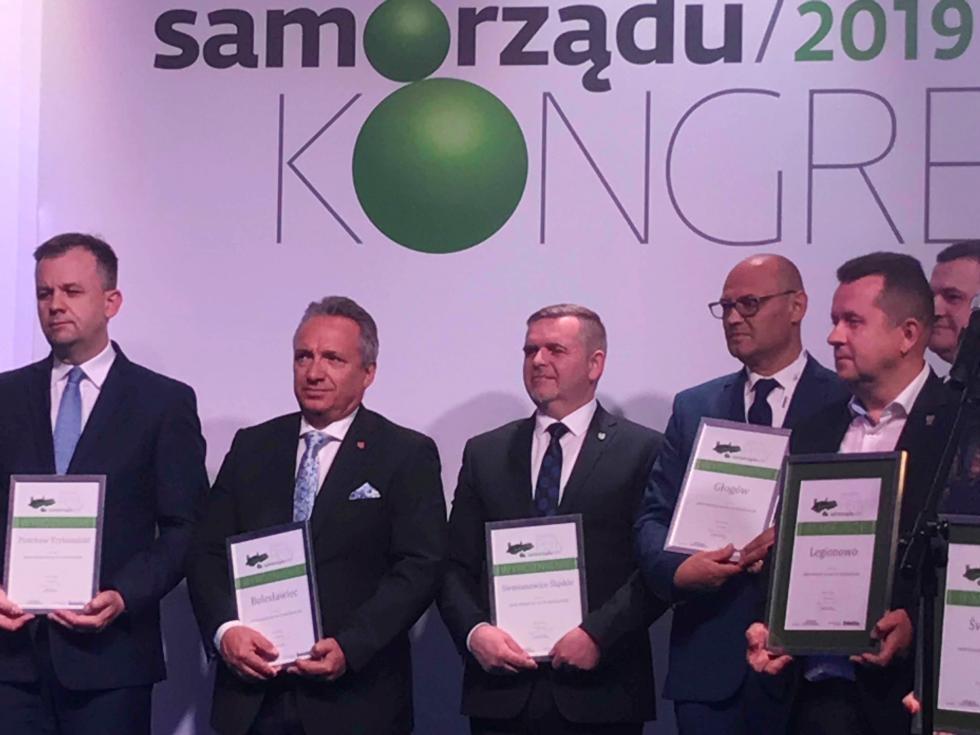 Bolesławiec laureatem rankingu Perły Samorządu