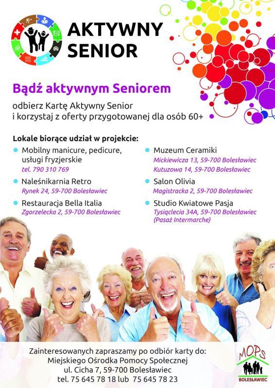 Karta Aktywny Senior
