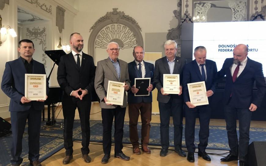 Dolnośląska Gala Sportu. WLegnicy nagrodzono najlepsze kluby wregionie