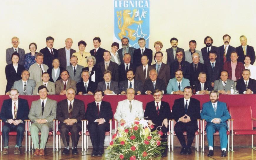 30 lat samorządu. Wspominamy jego legnickie początki
