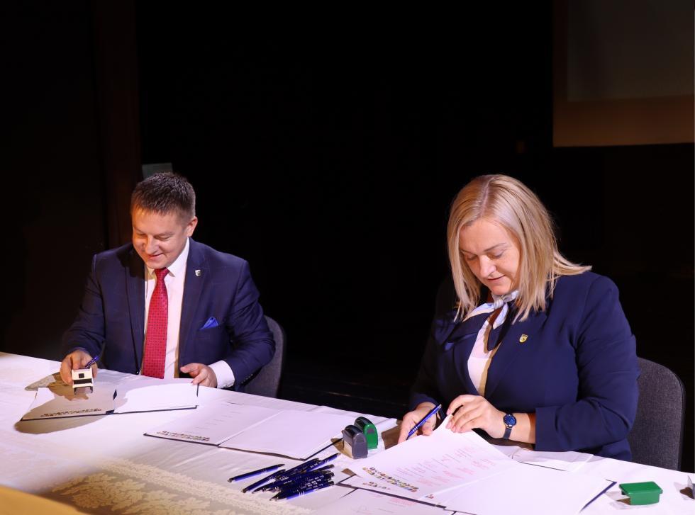 Włodarze gmin ipowiatów zadeklarowali współpracę do2027