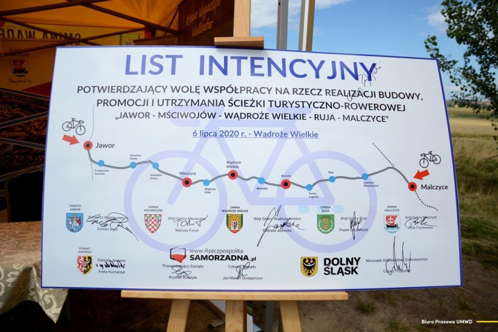 Dzięki współpracy samorządów powstanie nowa trasa rowerowa