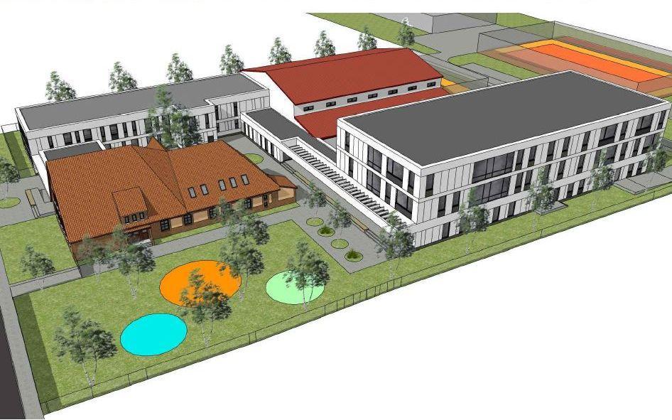 Burmistrz rozstrzygnął przetarg na rozbudowę szkoły podstawowej wRadwanicach