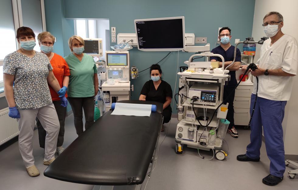 Nowatorski zabieg endoskopowy wbolesławieckim szpitalu