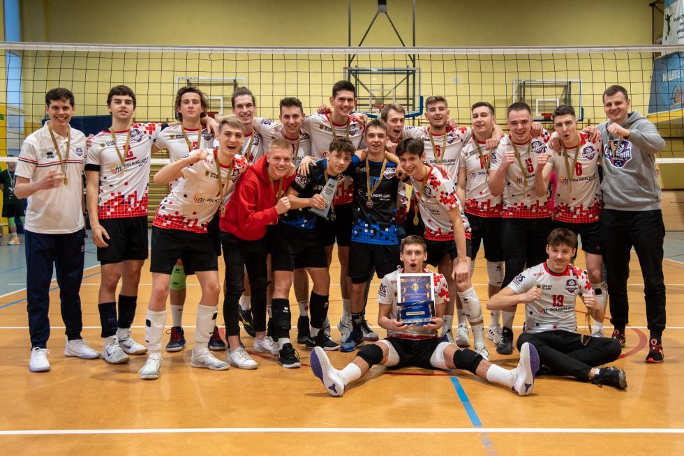 Gwardia Wrocław Academy - juniorzy ze złotem