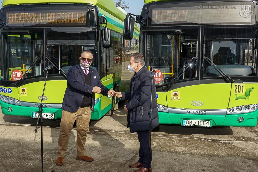 Autobusy elektryczne wyjechały na ulice Bolesławca